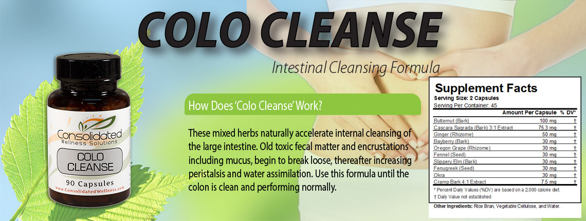 All new Colo Cleanse